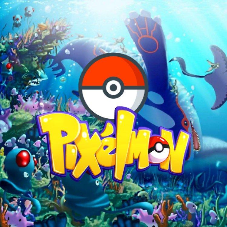 Project Pixelmon (Pokemon Addon For Bedrock) Battle Update!