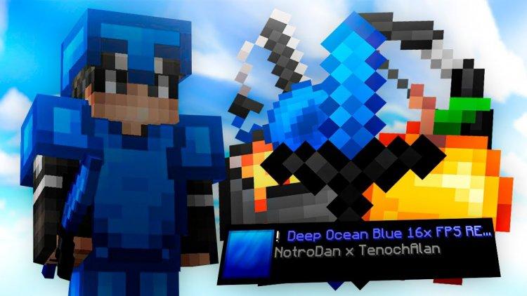 Blue Ocean 16x  (PVP Texture Pack)