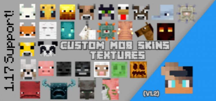 Custom Mobs Textures Skins (v1.2)