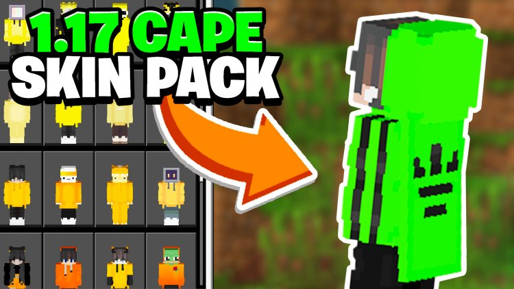 Minecraft Skin Pack With Capes!