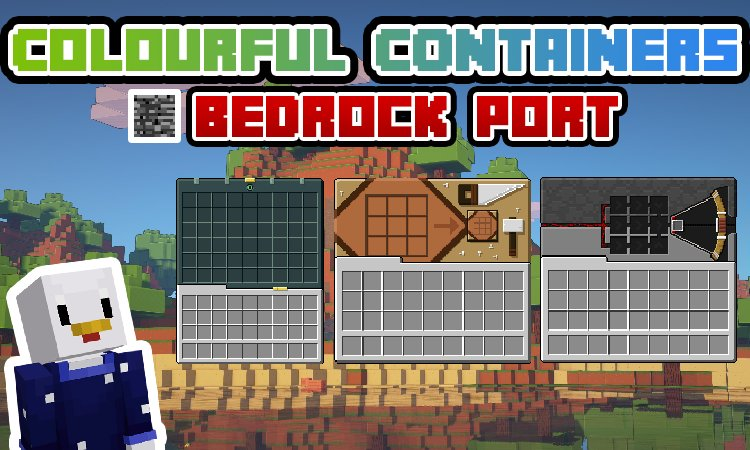 Colourful Containers v2 *FIXED - Bedrock Edition