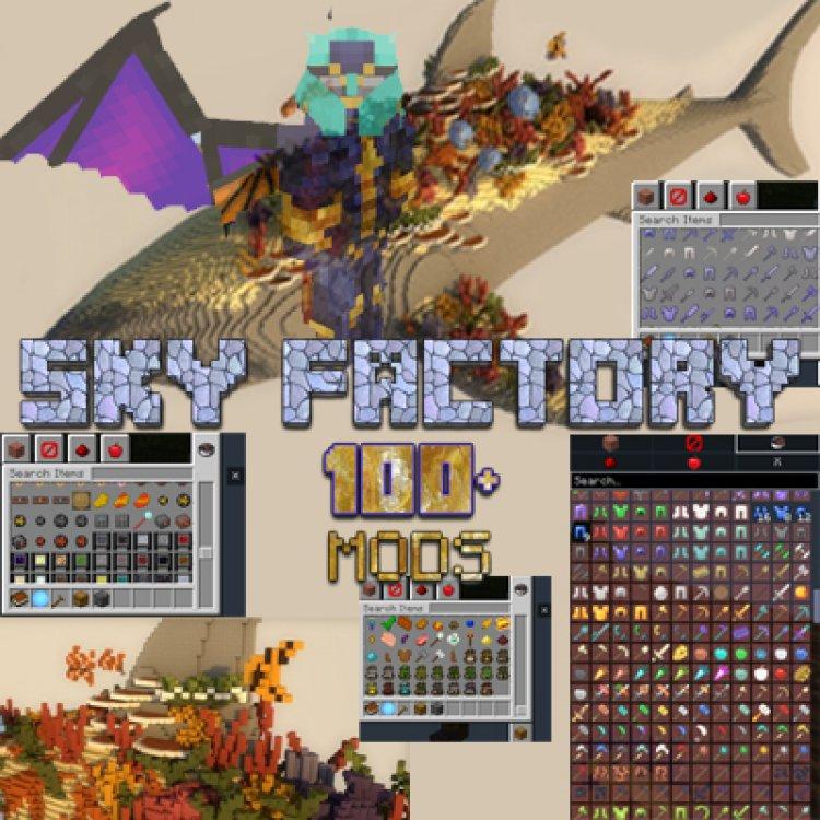 Skyfactory Bedrock 100 Plus Mod Pack