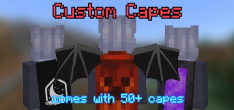 Custom Cape Resource Pack (50+ Capes)